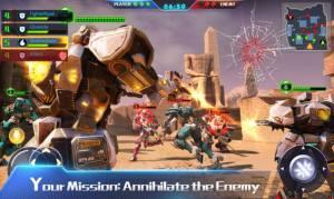 铁甲突击队小游戏图1