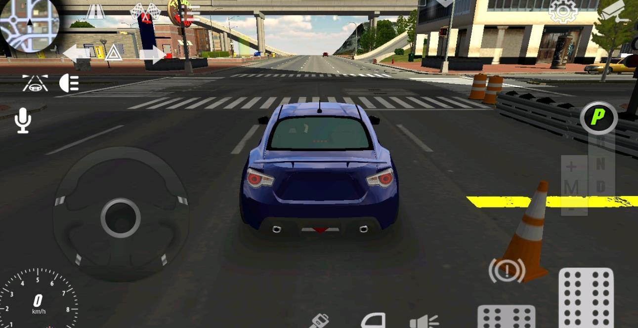 手动挡停车倒库模拟器手机游戏官方版下载(Car Parking)图1: