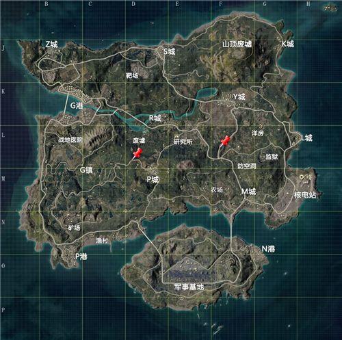 和平精英海岛地宫在哪?奇幻之旅地宫位置大全[多图]图片1