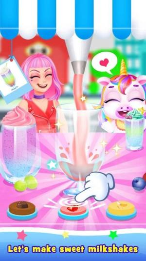 甜奶昔甜点模拟器游戏中文安卓版图片1