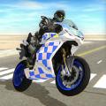 骑着摩托车的警察游戏