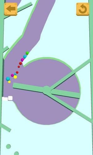 指尖逃生沙滩球球游戏安卓破解版图片1