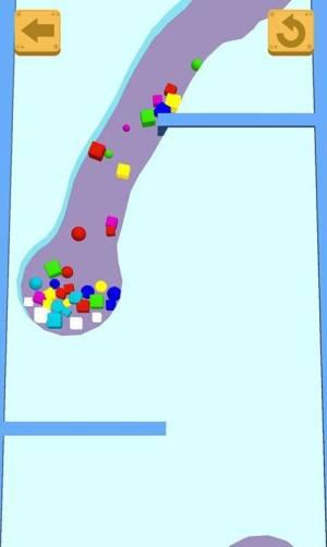 指尖逃生沙滩球球破解版图3