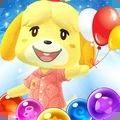 儿童动物泡泡射手游戏