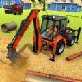 挖掘机城市破坏游戏