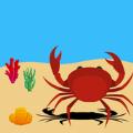 螃蟹海滩生存游戏