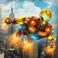 未来钢铁侠绳索英雄游戏