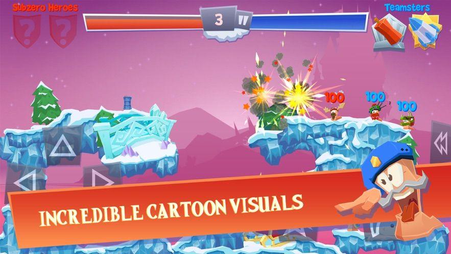 屌德斯解说百战天虫3D游戏官方版图片1