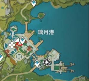 原神莲蓬在哪里采集?莲蓬地图位置一览图片3