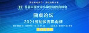 首届中国大中小学劳动教育峰会视频直播回放图4