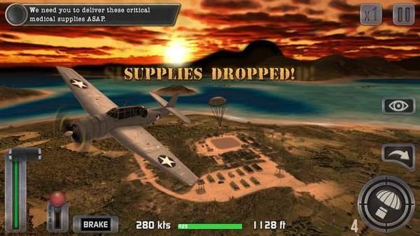 二战太平洋的飞机驾驶模拟器游戏下载手机版图2: