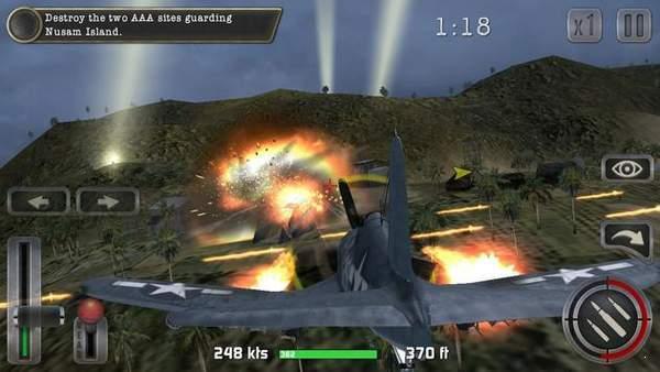 二战太平洋的飞机驾驶模拟器游戏下载手机版图3: