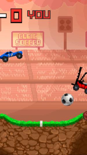 像素赛车足球游戏图3