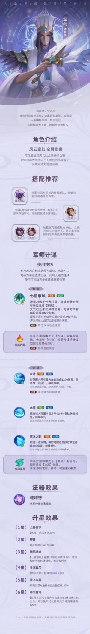 少年三国志零诸葛亮阵容搭配推荐:诸葛亮玩法攻略图片2