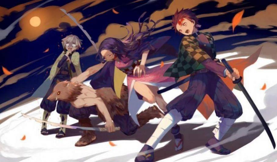 鬼灭之刃樱花动漫第二季中文版游戏最新版图2:
