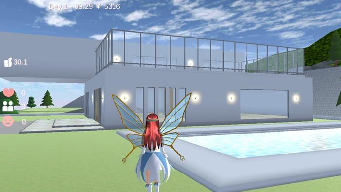 樱花校园模拟器1.038.00仙子衣服版本下载最新版圣诞节图3: