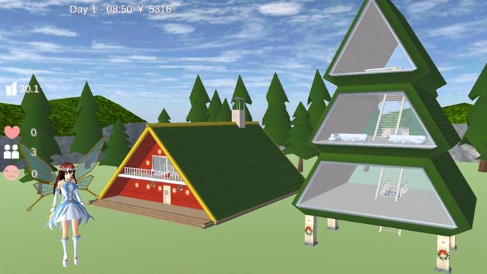樱花校园模拟器1.038.00仙子衣服版本下载最新版圣诞节图5: