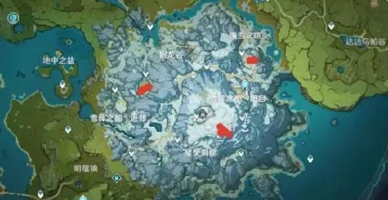 原神雪山山頂怎么上去?雪山山頂傳送點開啟及登頂攻略[多圖]