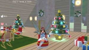 校园仙子模拟器1.038圣诞节最新中文版图片2