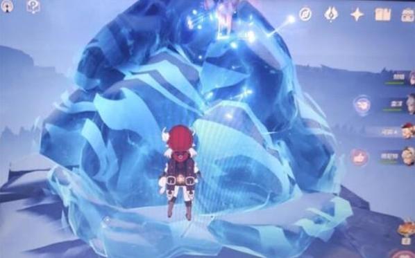 原神奇怪的冰怎么擊碎?調查奇怪的冰打碎攻略[多圖]