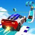 GT汽車空中特技游戲