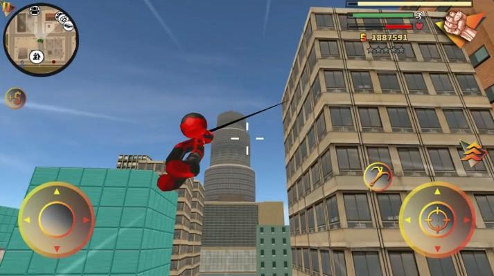 蜘蛛侠绳索英雄3