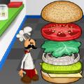 经营汉堡店游戏