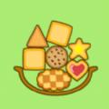 饼干堆积木游戏