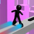 火柴人滑轮竞速赛游戏