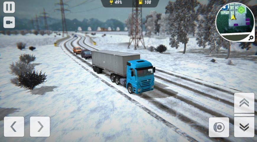 冬季卡车驾驶员模拟器游戏官方版图4: