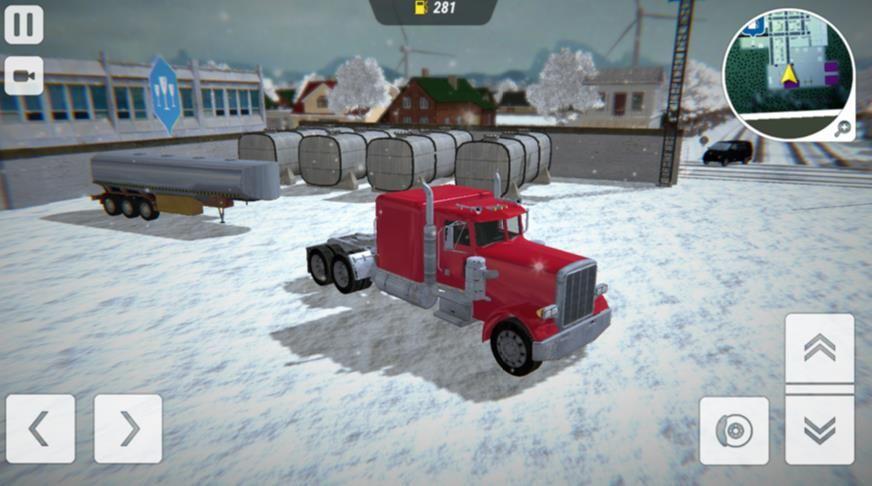 冬季卡车驾驶员模拟器游戏官方版图片1