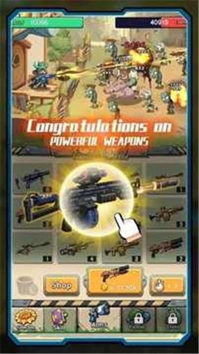 僵尸战争植物猎人中文游戏安卓版图片1