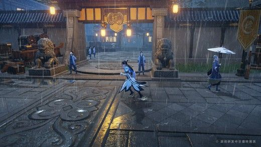 刀剑镇风雪游戏官方最新版图1: