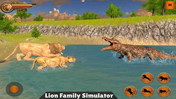 丛林狮群模拟游戏中文手机版图2: