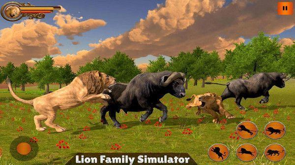 丛林狮群模拟游戏中文手机版图1: