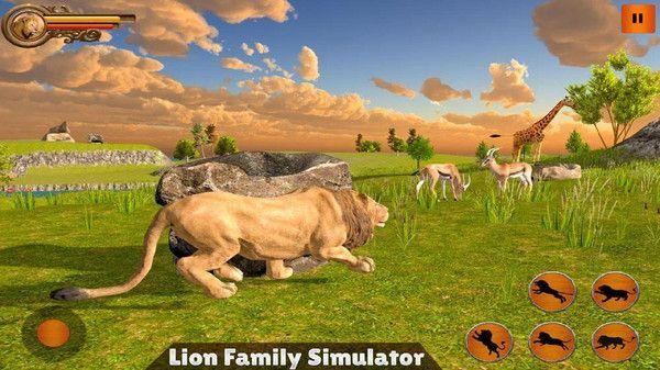 丛林狮群模拟游戏中文手机版图3: