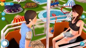 上坡高峰水上乐园滑梯游戏最新安卓版图片1
