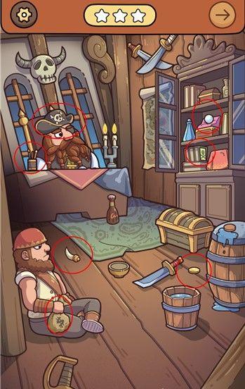 脑洞大侦探解谜攻略大全:海盗船、小猪的周末答案汇总[视频][多图]图片2