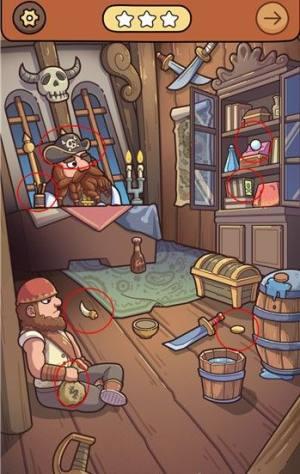 脑洞大侦探解谜攻略大全:海盗船、小猪的周末答案汇总图片2