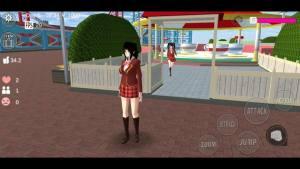 樱花校园模拟器礼服版图3