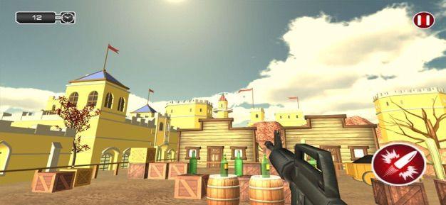 瓶子射击狙击学院游戏最新安卓版图1: