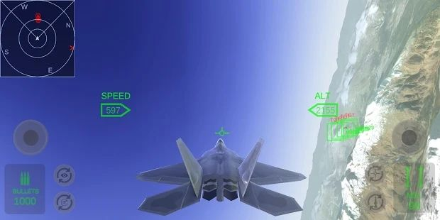 F22洛克希德空战模拟器中文手机版图片1