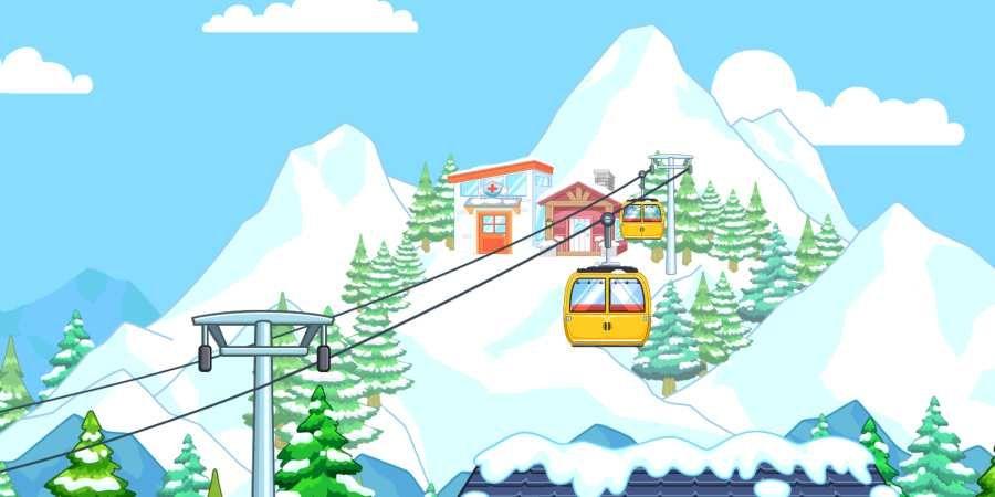 托卡生活滑雪场全解锁完整版图3: