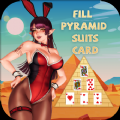 Fill Pyramid Suits Card