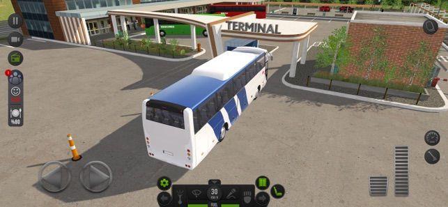模拟公交车载客游戏无限金币破解版图1: