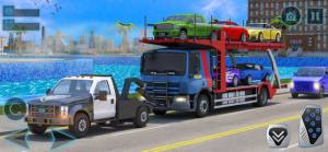 汽车运输者拖卡车破解版图4