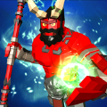 不可思议的红色超级英雄战士游戏