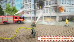 印尼消防车模拟器无限金币中文破解版图片1
