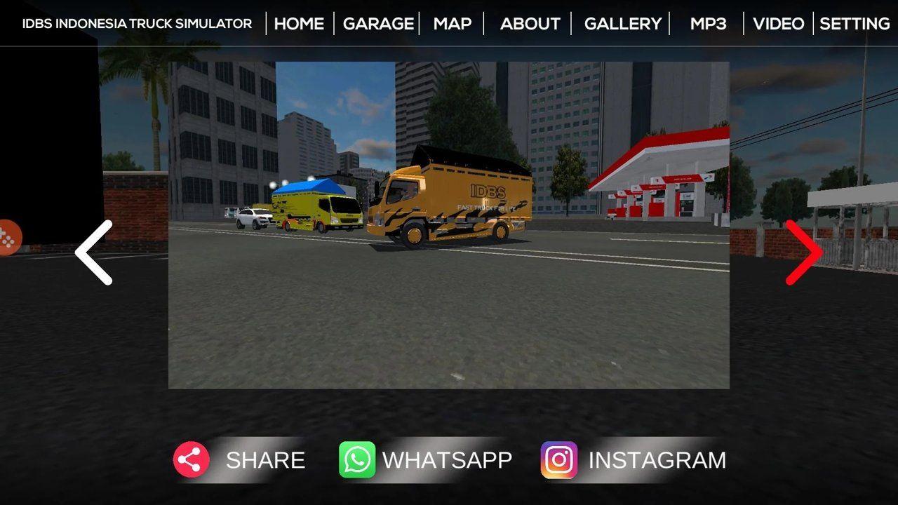 IDBS印尼卡车模拟器中文游戏手机版图2: