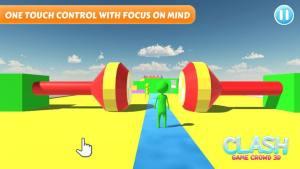冲突游戏人群3D最新版图1